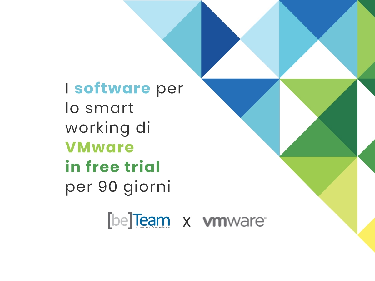 Smart working con VMware: prova il free trial di 90 giorni